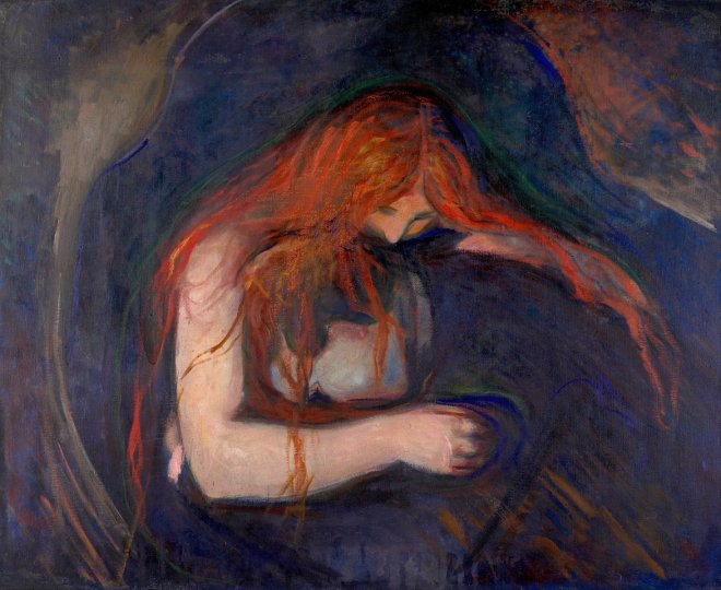 Edvard Munch Love and Pain